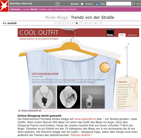 Mode-Blogs: Trends von der Straße (auf stern.de)