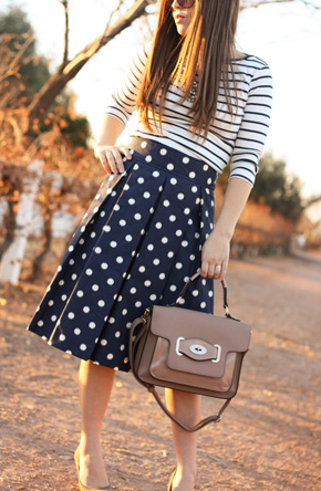 blue+dots+skirt