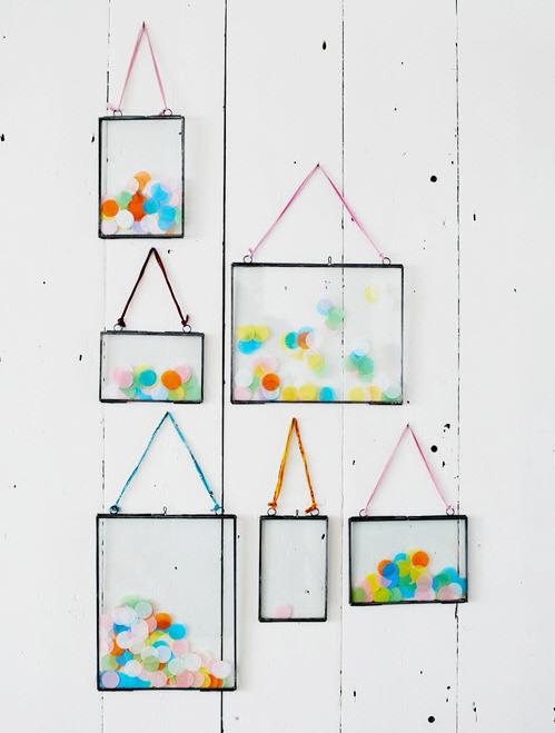 Confetti-frame
